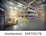 warehouse interior | Shutterstock . vector #549735178