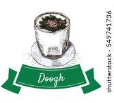 doogh colorful illustration.... | Shutterstock .eps vector #549741736