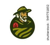 farmer | Shutterstock .eps vector #549751852