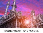 close up industrial view at oil ... | Shutterstock . vector #549756916