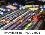 video mixer use | Shutterstock . vector #549764896