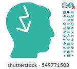brain electric strike...   Shutterstock .eps vector #549771508