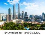 Kuala Lumpur City Skyline ...