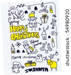 Christmas Doodle Collection Of...