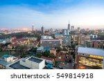 modern nairobi cityscape  ... | Shutterstock . vector #549814918