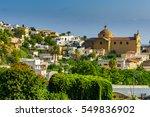 Small photo of Church Santa Marina Salina aeolian islands, Sicily