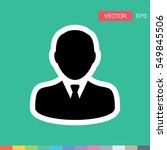 user icon   advocate profile... | Shutterstock .eps vector #549845506
