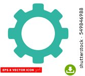 gear eps vector pictograph.... | Shutterstock .eps vector #549846988