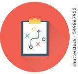 tactic vector icon | Shutterstock .eps vector #549867952