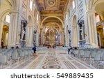 rome  italy   december 31  2016 ... | Shutterstock . vector #549889435