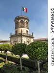 mexico city  the tower in the...   Shutterstock . vector #549906805