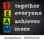 team   together everyone... | Shutterstock . vector #549933145