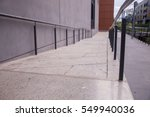disabled ramp | Shutterstock . vector #549940036