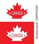 vector canada emblem | Shutterstock .eps vector #549941026