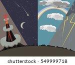 natural phenomena vector cartoon   Shutterstock .eps vector #549999718