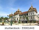 the royal grand palace  bangkok ... | Shutterstock . vector #55001443