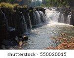 waterfall laos   Shutterstock . vector #550030015