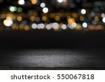 empty wooden table platform and ... | Shutterstock . vector #550067818
