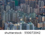 close up top of building as...   Shutterstock . vector #550072042