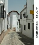 Typical Andalucian Street In...