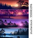 set vector illustration of... | Shutterstock .eps vector #550081096