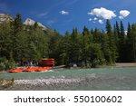 banff national park  alberta ... | Shutterstock . vector #550100602