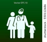 family practice vector... | Shutterstock .eps vector #550112686