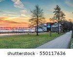 wet'n wild  recreation area...   Shutterstock . vector #550117636