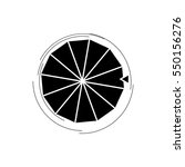 wheel of fortune  lucky icon.... | Shutterstock .eps vector #550156276