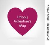 red heart flat icon. valentine...