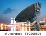 Picture of parabolic satellite...