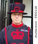 Beefeater At Tower Of London ...