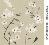 japanese  style pattern | Shutterstock .eps vector #55023511