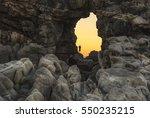 mexico  oaxaca  puerto... | Shutterstock . vector #550235215