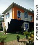 upside down house.   Shutterstock . vector #550236706