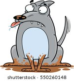 cartoon illustration of a silly ... | Shutterstock .eps vector #550260148