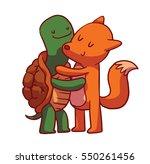 vector cartoon image of cute... | Shutterstock .eps vector #550261456