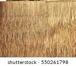 Grasses Thatch Roof Background...