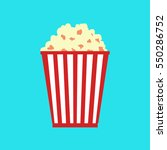 popcorn | Shutterstock .eps vector #550286752