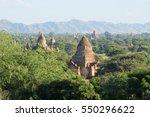bagan myanmar | Shutterstock . vector #550296622