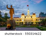 ho chi minh city people's... | Shutterstock . vector #550314622