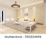 3d rendering of home interior. | Shutterstock . vector #550324696