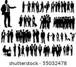 business people | Shutterstock .eps vector #55032478