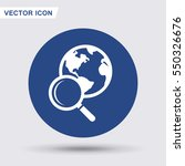 pictograph of search   Shutterstock .eps vector #550326676