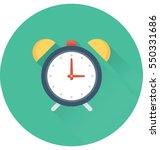 alarm vector icon  | Shutterstock .eps vector #550331686