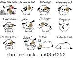 Cartoon Puppy Set