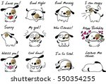 Cartoon Puppy Set