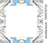 rectangular frame of...   Shutterstock . vector #550370716