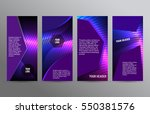 business templates for... | Shutterstock .eps vector #550381576