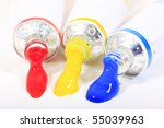 red yellow blue primary... | Shutterstock . vector #55039963